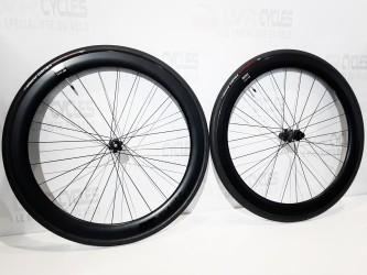 DT Swiss roues en carbone...